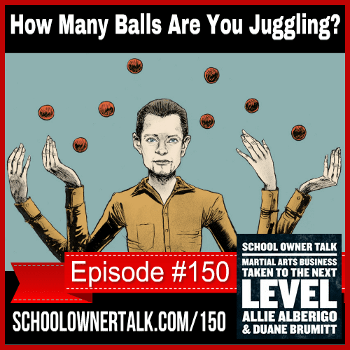 How many balls are you juggling? – Episode #150