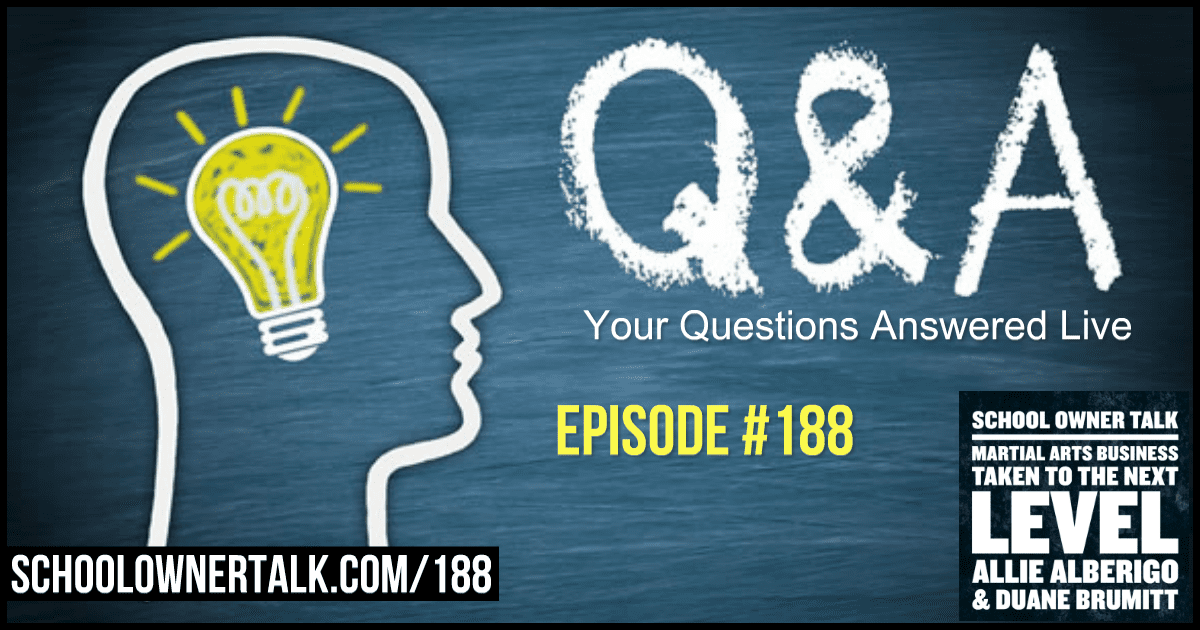 Q & A with Allie & Duane – Episode #188