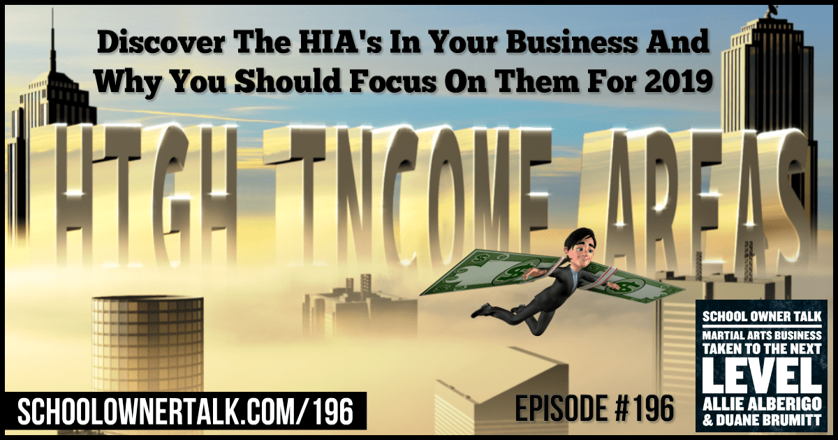 High Income Areas – Episode #196