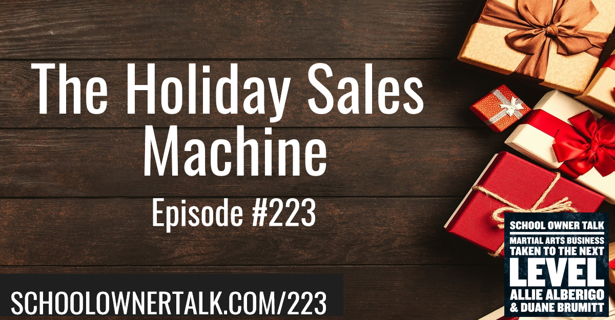 223. The Holiday Sale Machine