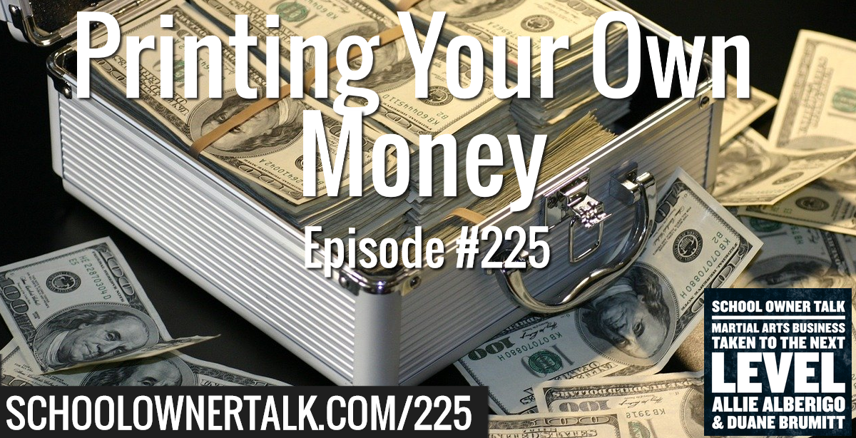 225. Printing Your Own Money!