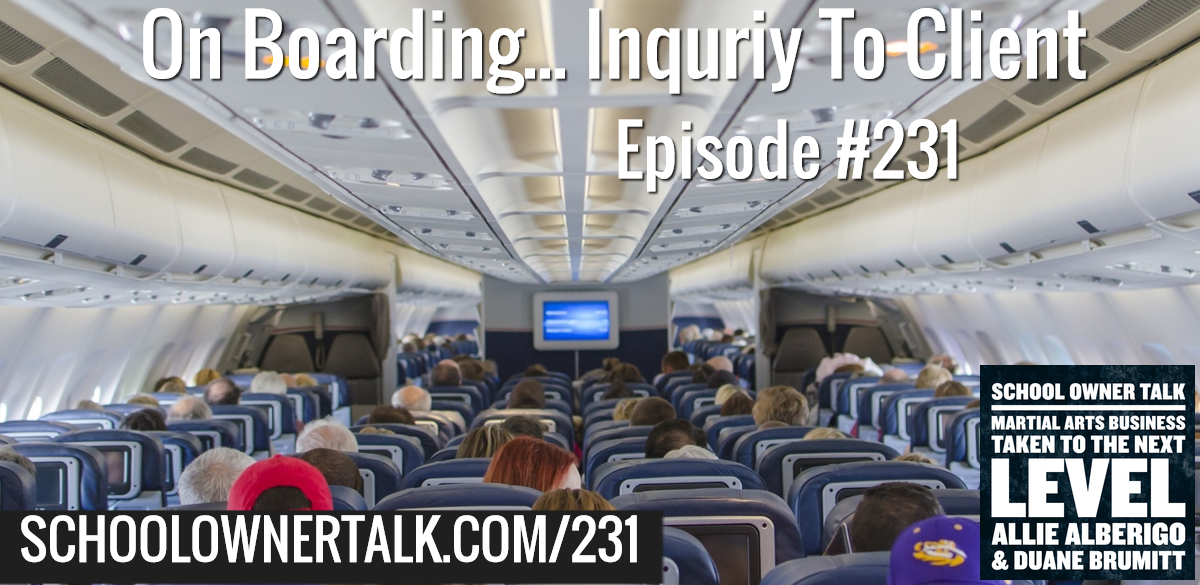 231. On Boarding – Inquiry to New Client