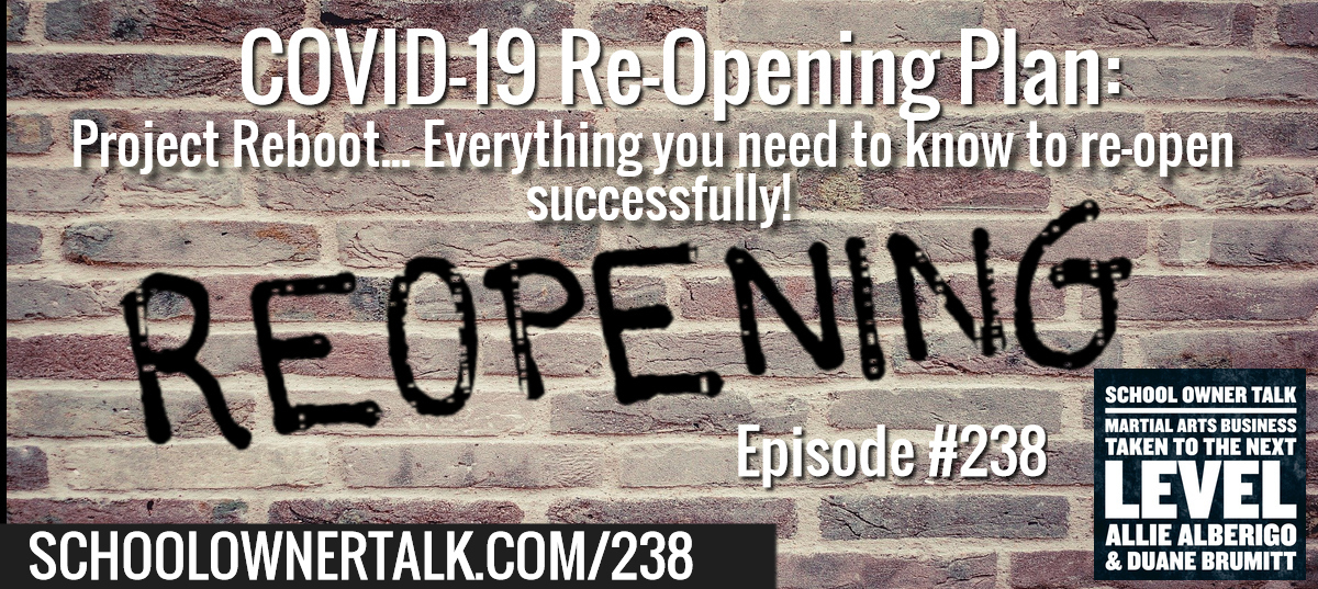 238. COVID-19 Re-Opening Plan: Project Reboot…