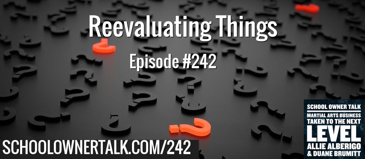 242. Reevaluating Things