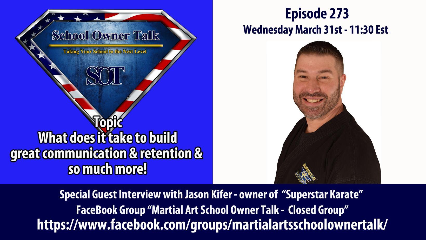 273 | Interview With Jason Kifer