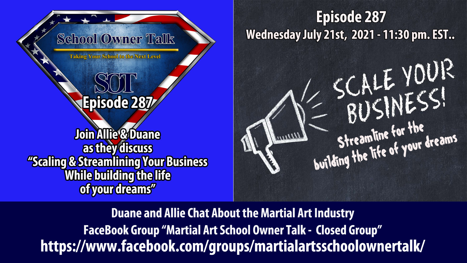 287 | Scaling and Streamlining Your Business While Building The Life of Your Dreams