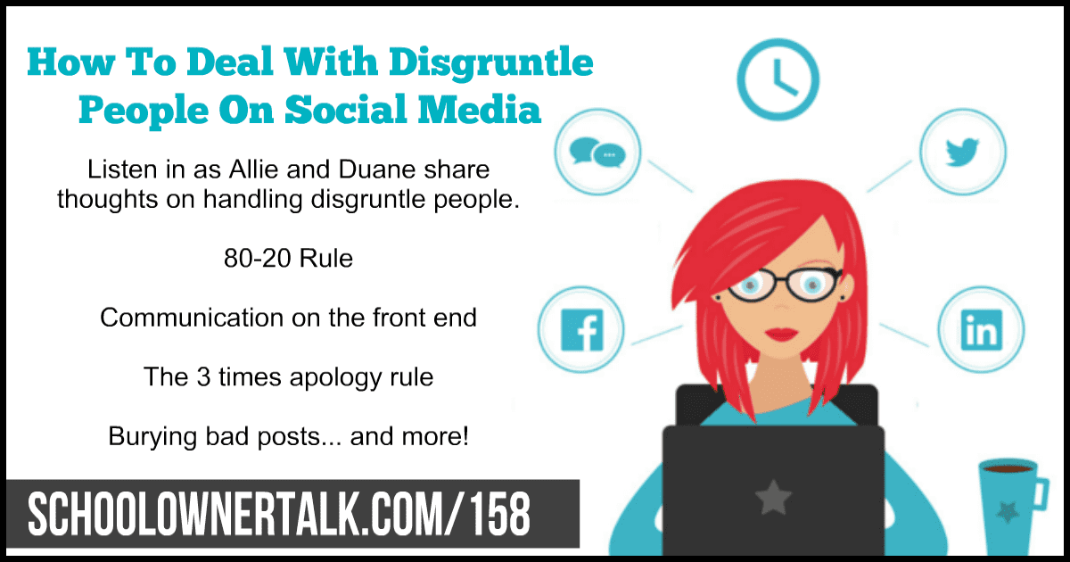 How To Deal With Disgruntle People On Social Media – Episode #158