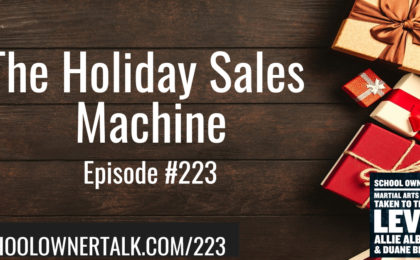 The Holiday Sales Machine