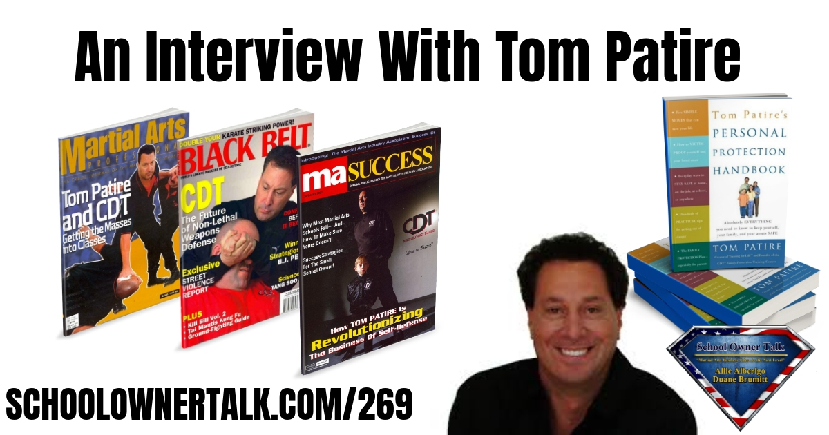 269 | An Interview With Tom Patire